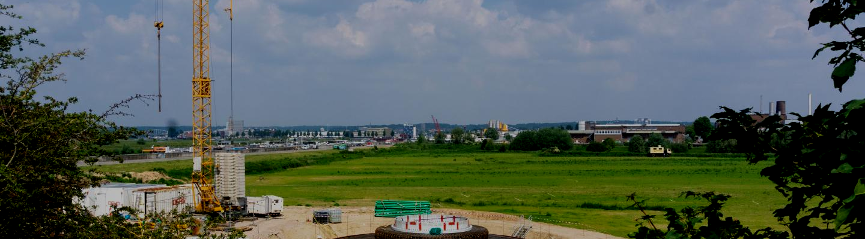 fundatie windpark Koningspleij